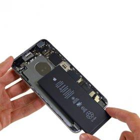 замена оригинального аккумулятора iphone 6s одесса